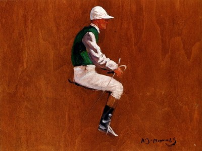 A Jockey Study For Hethersett Races