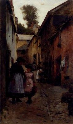 A Street In Newlyn