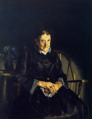 Aunt Fanny, Old Lady in Black