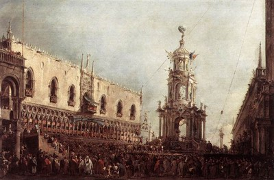 Carnival Thursday on the Piazzetta