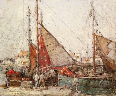 Fishing Boats, Honfleur