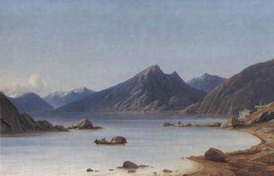 Fishing on a Fjord