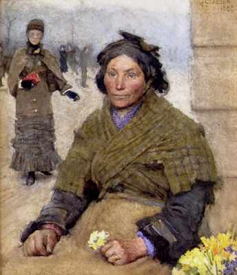 Flora, The Gypsy Flower Seller