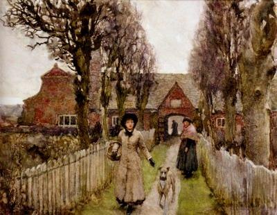 Gaywood Almshouses, Kings Lynn, 1881