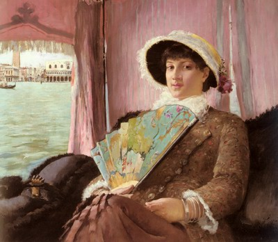 Girl In A Gondola