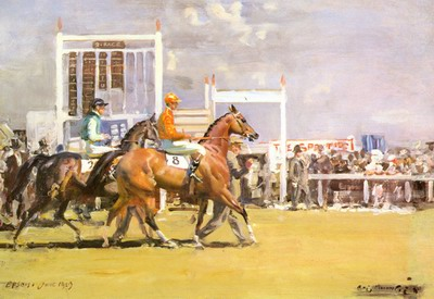 Going Out At Epsom