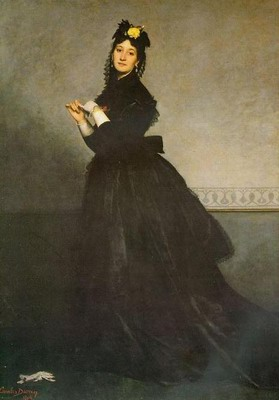 Lady with a Glove