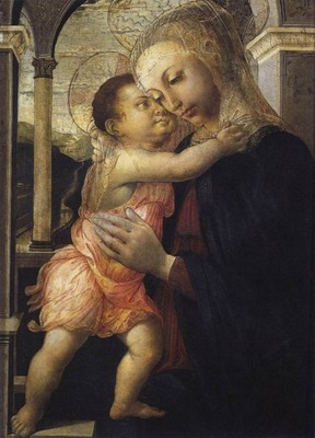 Madonna And Child,Madonna della loggia