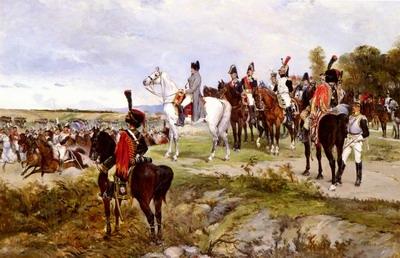 Napoleon Watching The Battle Of Friedland