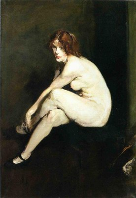 Nude Girl Miss Leslie Hall
