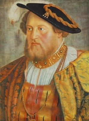 Portrait Of Ottheinrch,Prince Of Pfalz