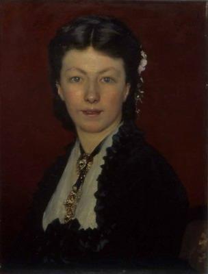 Portrait de Mme Neyt, Portrait of mrs neyt