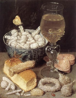 Still Life With Bread And Confectionary