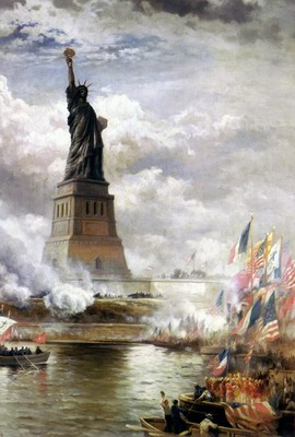 Unveiling The Statue of Liberty