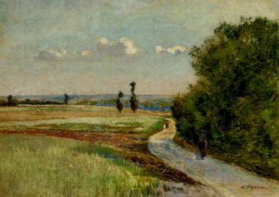 A Path In A Pastoral Landscape