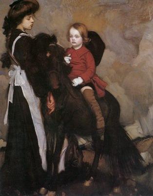 Equestrian Portrait of a Boy