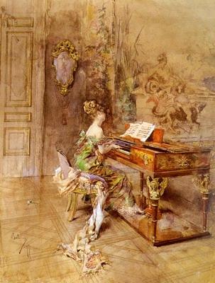 La Pianista,The lady pianist