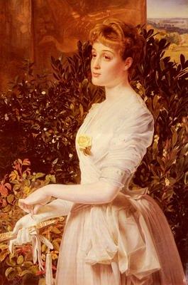 Portrait Of Julia Smith Caldwell