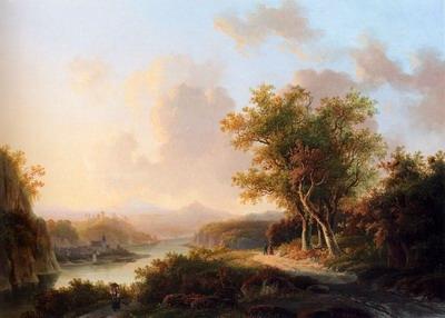 A Rhenish Summer Landscape