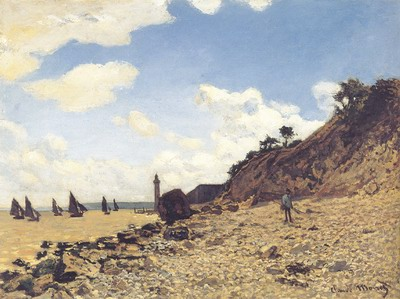 Beach at Honfleux