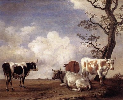 Four Bulls