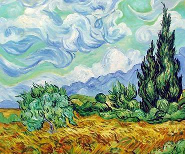 oil Paintings technique replica painting Van Gogh oil painting
