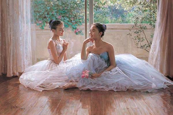 oil painting oil paintingoil Ballet oil painting