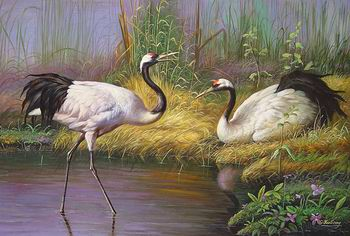 oil painting picture Wholesale Oil Painting Animal oil painting
