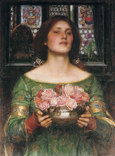 Gather Ye Rosebuds While Ye May, John William Waterhouse
