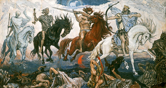 The Four Horsemen of the Apocalypse, Victor Mikhailovich Vasnetsov