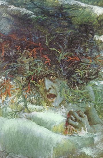 Eve, Lucien Lévy-Dhurmer