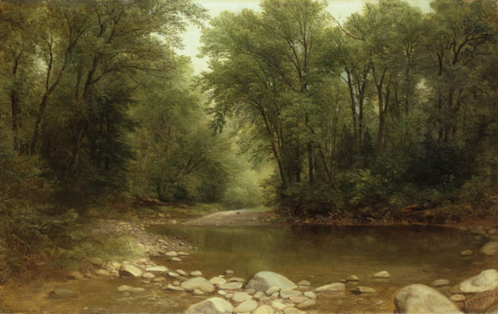 A Catskill Stream, Asher Brown Durand