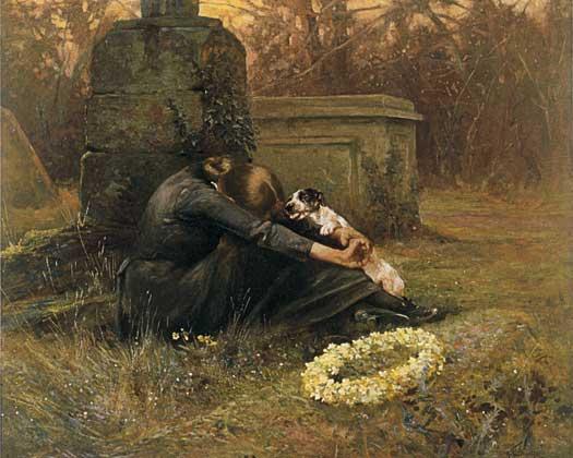 A Comforting Friend, Arthur Wardel