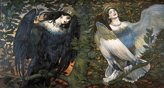 A Song of Joy and Sorrow, Victor Mikhailovich Vasnetsov