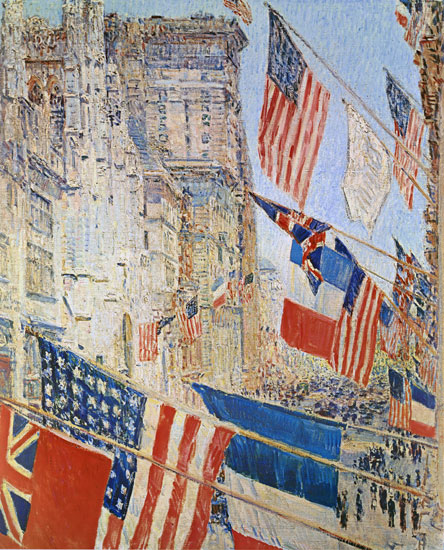 Allies Day, Childe Hassam