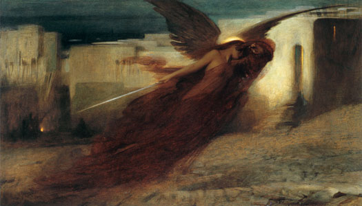 And There Was A Great Cry in Egypt, Arthur Hacker