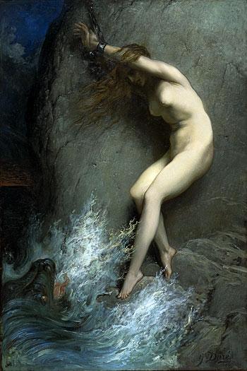 Andromeda, Gustave Doré