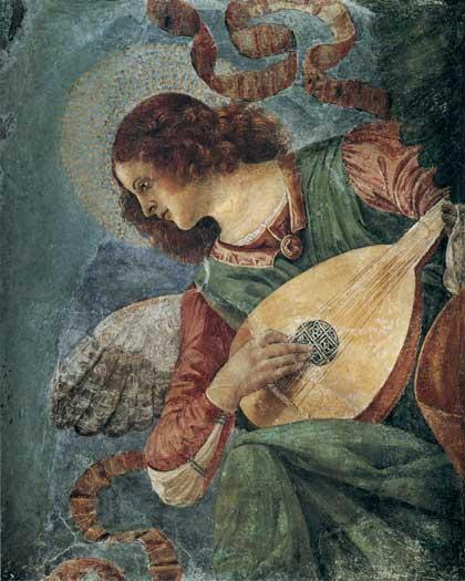 Angel Musician, Melozza DaForli