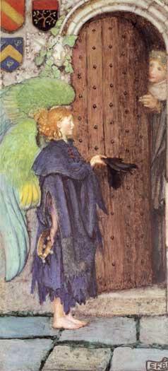 Angel at the Door, Eleanor Fortescue-Brickdale