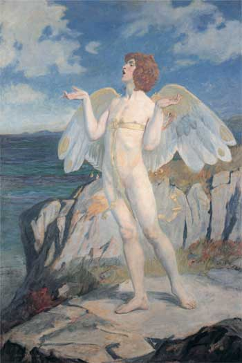 Angus Og, Putting a Spell of Summer Calm on the Sea, John Duncan