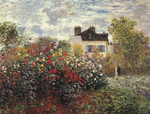 Argenteuil Garden, Claude Monet