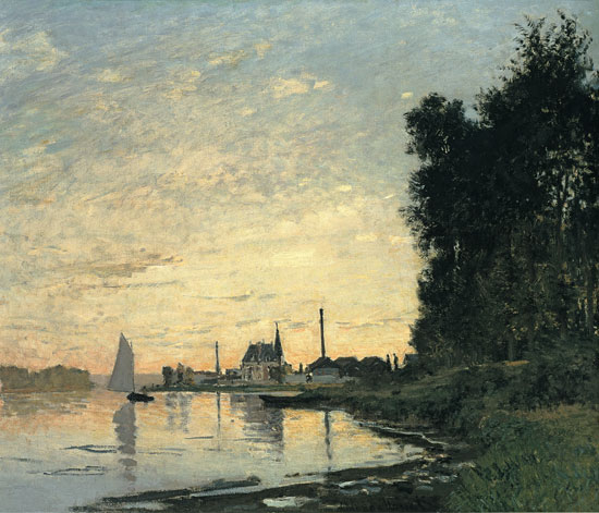 Argenteuil Late Afternoon, Monet