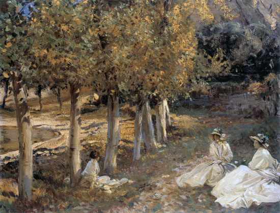 Autumn Leaves, John Singer Sargent