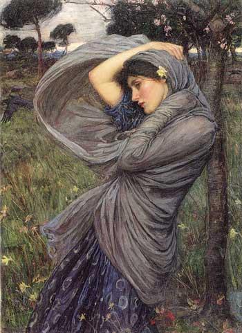 Boreas, John William Waterhouse