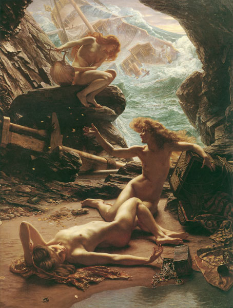 Cave of the Storm Nymphs, Sir Edward John Poynter