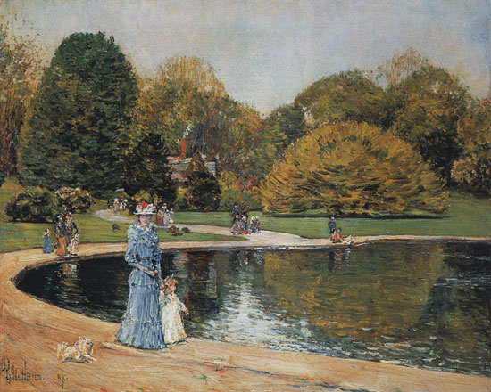 Central Park, Childe Hassam