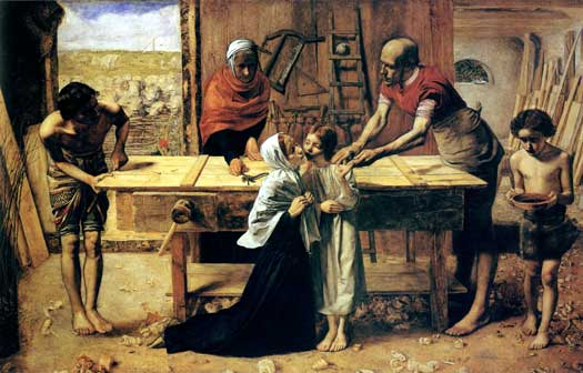 Christ in the House of His Parents, Sir John Everett Millais