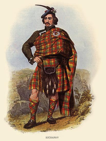 Clan Buchanan Tartan, McIan