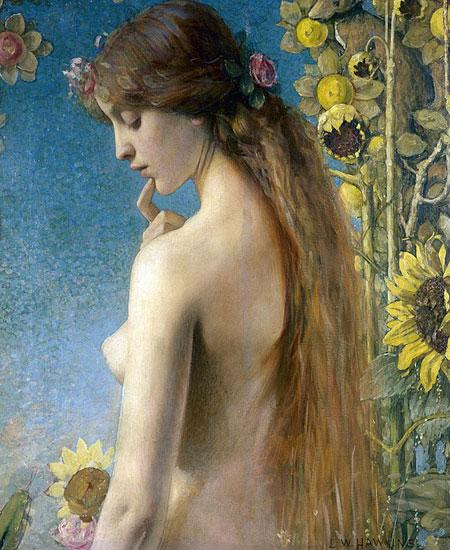 Clytie, Louise Welden Hawkins