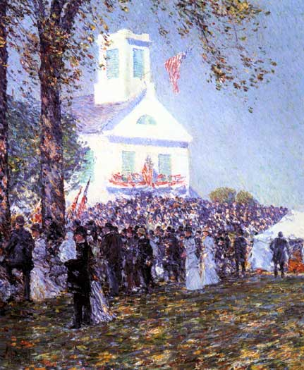 Country Fair - New England, Childe Hassam